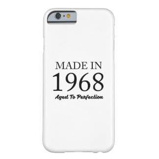 Made In 1968 Barely There iPhone 6 Case