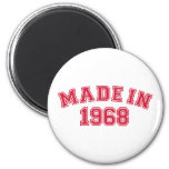 Made in 1968 magnet