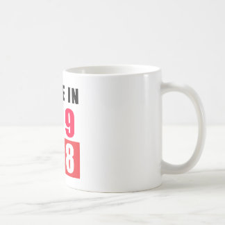 Made In 1968 Coffee Mugs