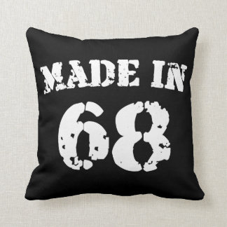 Made In 1968 Pillow