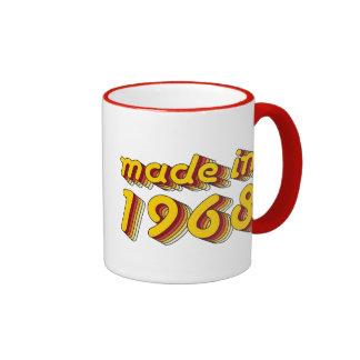 Made in 1968 (Yellow&Red) Mug