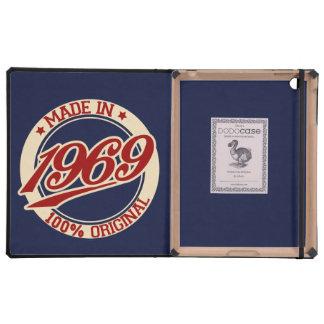 Made In 1969 iPad Folio Case