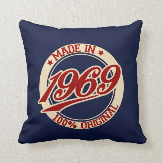 Made In 1969 Throw Pillow