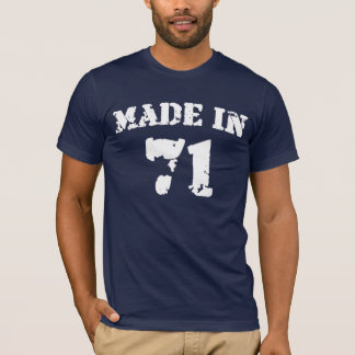 Made In 1971 T-Shirt