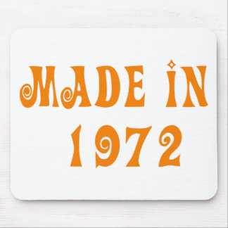 Made in 1972 mouse pad