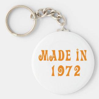 Made in 1972 schlüsselbänder
