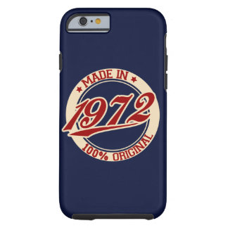 Made In 1972 Tough iPhone 6 Case