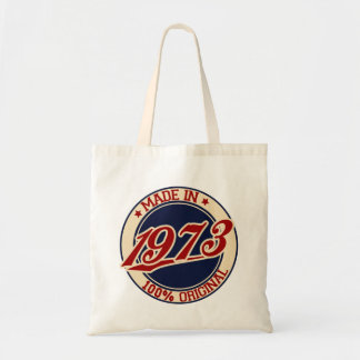 Made In 1973 Tote Bags
