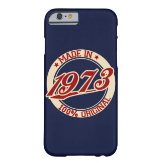 Made In 1973 Barely There iPhone 6 Case