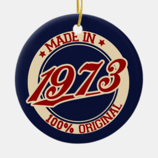 Made In 1973 Ornaments