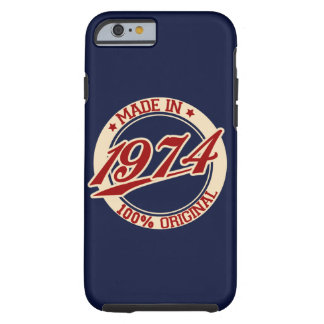 Made In 1974 Tough iPhone 6 Case