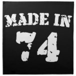 Made In 1974 Cloth Napkins
