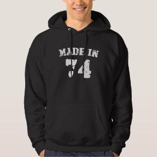 Made In 1974 Hoodie