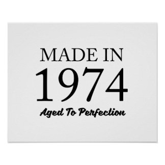 Made In 1974 Poster