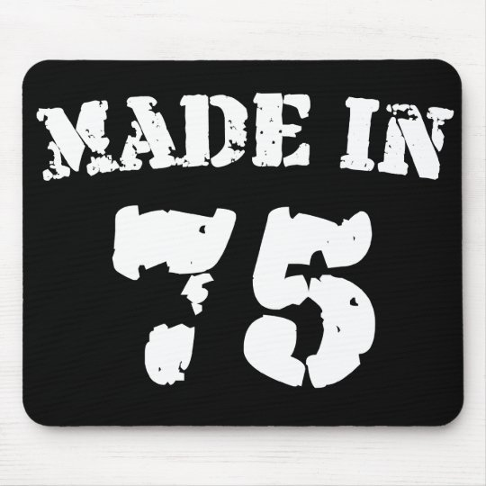 Made In 1975 Mouse Pad