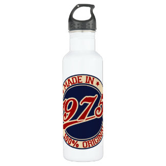 Made In 1975 Water Bottle