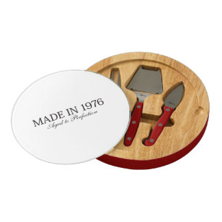 Made in 1976 cheese board