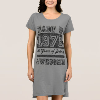 Made in 1976 dress