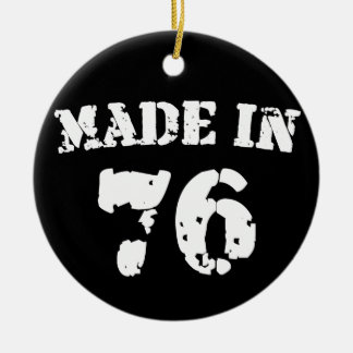 Made In 1976 Christmas Ornaments