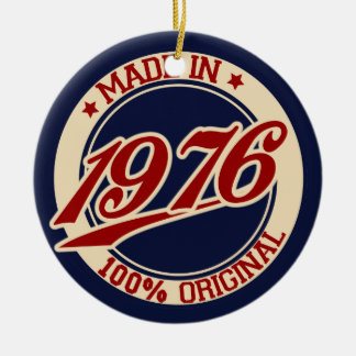 Made In 1976 Ornament