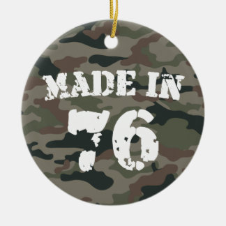 Made In 1976 Ornaments