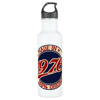 Made In 1976 Water Bottle