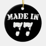 Made In 1977 Christmas Tree Ornaments