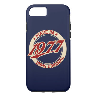 Made In 1977 iPhone 8/7 Case