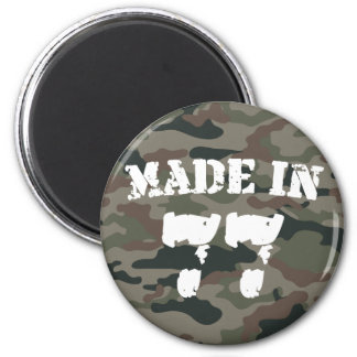 Made In 1977 2 Inch Round Magnet