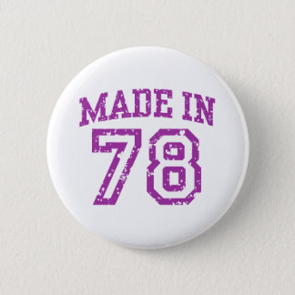 Made in 1978 pinback button