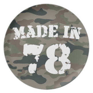 Made In 1978 Plates