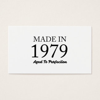 Made In 1979 Business Card