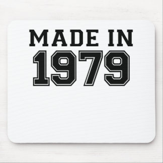 MADE IN 1979.png Mouse Pad