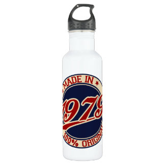 Made In 1979 Water Bottle