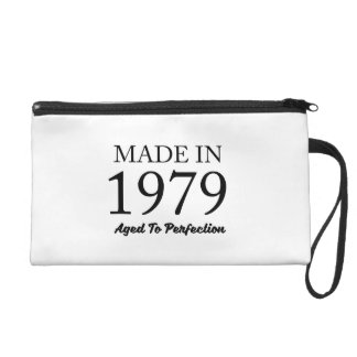 Made In 1979 Wristlet Purse