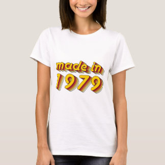 Made in 1979 (Yellow&Red) T-Shirt