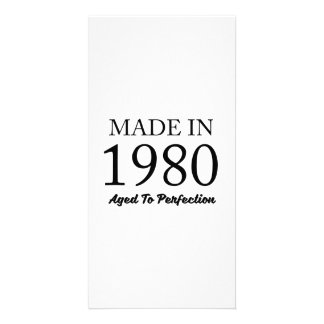 Made In 1980 Card