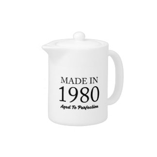 Made In 1980 Teapot