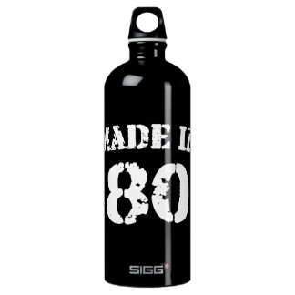 Made In 1980 Water Bottle