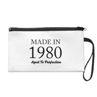 Made In 1980 Wristlet Purse