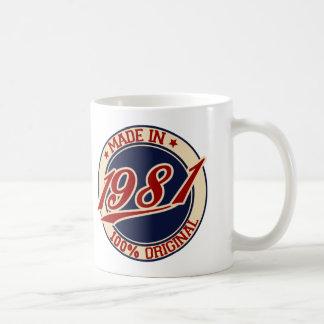 Made In 1981 Coffee Mug