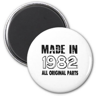 Made In 1982 All Original Parts 2 Inch Round Magnet