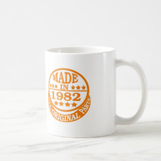 Made in 1982 all original parts classic white coffee mug