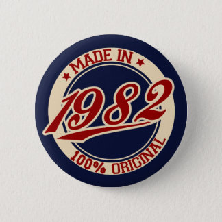 Made In 1982 Button