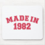 Made in 1982 mouse pad
