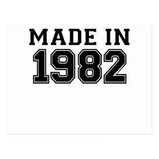 MADE IN 1982.png Postcard