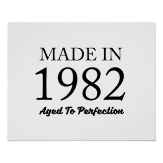 Made In 1982 Poster