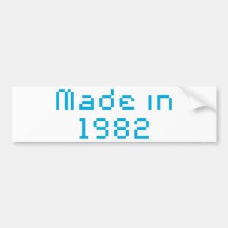 Made in 1982 shirt bumper sticker