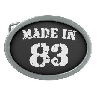 Made In 1983 Belt Buckle