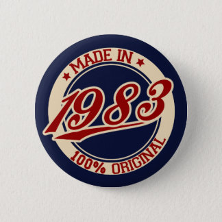 Made In 1983 Button